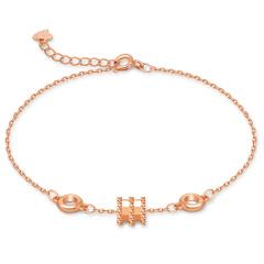 简尊珠宝 S925小蛮腰手链 1803