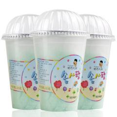 韩国进口帕克大叔菠萝味棉花糖3盒装