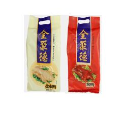 北京全聚德 正宗老字号美食 熟食肉类盐水鸭500g+酱鸭500g