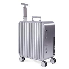 利马赫(LIEMOCH)男女万向轮铝镁合金拉杆登机旅行硬箱 精雕镭射