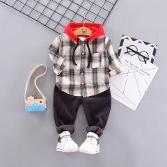 菲儿小屋  中小童秋季套装 2019童套装 韩版两件套通宝宝套装