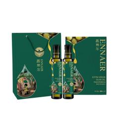 恩纳尔特级初榨橄榄油礼盒500ML*2 植物油 西班牙进口食用油