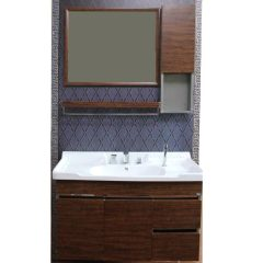 NOKEN木纹1米浴室柜套组  货号119060