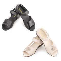 JANCYBONY牛皮凉鞋1+1组