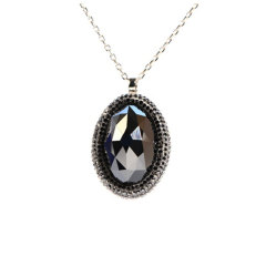 施华洛世奇Swarovski 女士水晶项链 5008674黑色
