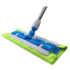 圣洁康平板拖把家用旋转夹毛巾拖把拖布擦木地板瓷砖地墩不锈钢杆