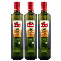 西班牙原装进口欧蕾特级初榨橄榄油750ml三瓶装