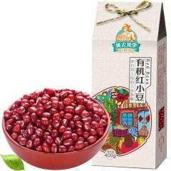美农美季 东北五谷杂粮 有机红小豆400g