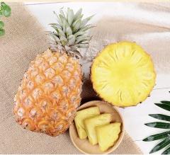 云南牛奶金钻凤梨5斤装水果新鲜手撕金大菠萝大果包邮