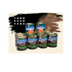 安多清真食品藏区特产藏牛颈骨8罐 牛蹄筋2罐 7.8kg