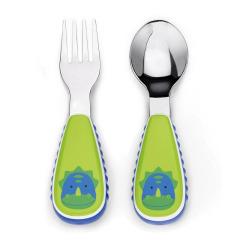 Skip Hop 儿童餐具不锈钢叉勺
