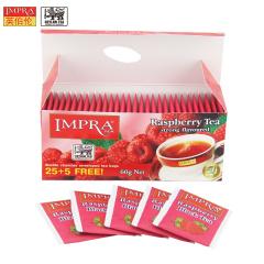 斯里兰卡原装进口 IMPRA 英伯伦树莓味调味茶(2g*30袋)60g