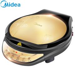 美的 电饼铛家用煎烤机早餐机烙饼机三明治机电饼铛面包机烙饼锅双面悬浮加热