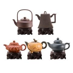 富贵土经典紫砂茶具套组 货号123938