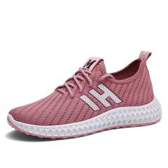 运动鞋女春季新款休闲百搭网鞋透气平底单鞋