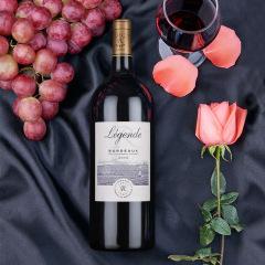 法国原瓶原装进口拉菲罗斯柴尔德传奇波尔多干红葡萄酒1.5L