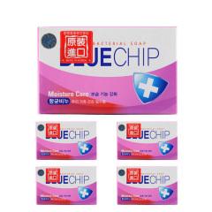 韩国原装进口爱敬BlueChip杏仁油香皂5盒装