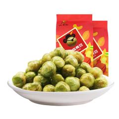 山里仁蒜香青豆180g休闲豆子炒货豆类零食小吃香酥青豌豆