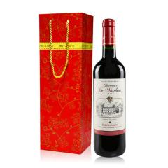 法国红酒 查特马特斯波尔多干红 原瓶原装进口红酒 AOC级 单支送礼袋