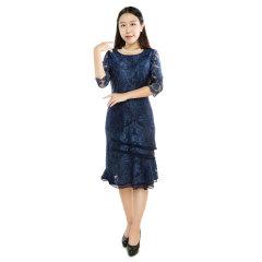 DS优雅款蕾丝连衣裙  货号122381