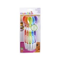 Munchkin/麦肯齐 硅胶软头婴儿勺(6个装)