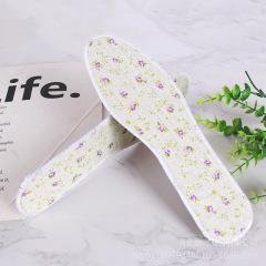 小花布加厚可爱花香药物除臭吸汗透气鞋垫