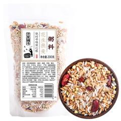 方家铺子 花生燕麦粥(袋200g)*5袋