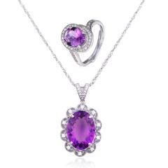 翠璨雍容华贵紫水晶尊享组