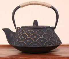 祥云生铁壶 精品养生茶壶煮水器礼品收藏