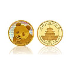 中国熊猫金币35周年评级币