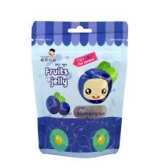 韩国进口帕克大叔蓝莓味果汁软糖42g