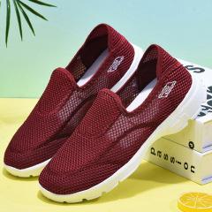 老北京布鞋女软底透气健步老人运动休闲鞋防滑软底妈妈鞋