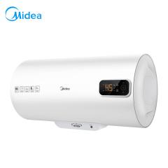 美的 60升电热水器增容速热防电墙洗澡低耗保温 家用速热节能 BA3系列 极地白