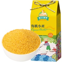 美农美季 东北五谷杂粮 粗粮 有机小米敖汉小黄米 月子米 1000g