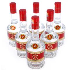 五粮液股份四方见喜佳品浓香型白酒500ML*6瓶