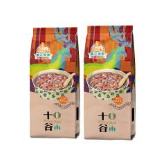 美农美季 东北杂粮大米精选十谷米粥米组合400g*2袋