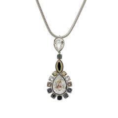 施华洛世奇Swarovski项链镀钯色Valeska水晶链坠 5019090
