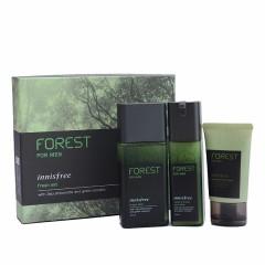 韩国悦诗风吟 森林男士水乳洗面奶套盒(绿色)