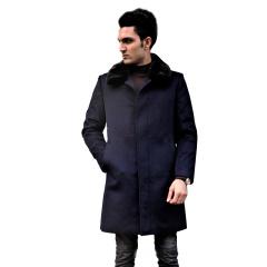 MASANA玛萨纳羊绒水貂大衣