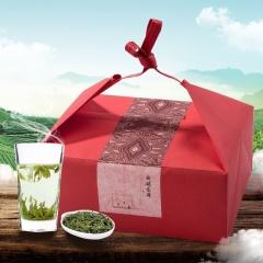 瓯叶 2017年明前西湖龙井首发 100g 【赠黑胡桃木随身小茶盒】
