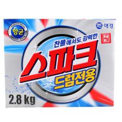 韩国原装进口爱敬强力冷水专用洗衣粉2.8kg