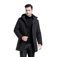 JC男中长款士加厚保暖防寒服