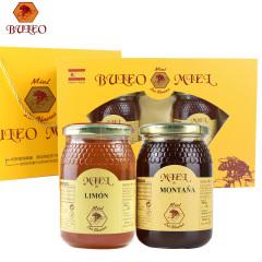 西班牙原装进口布罗家族精装礼盒柠檬+高山500g二瓶装