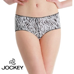 Jockey  女莱卡斑马纹无痕小平角内裤