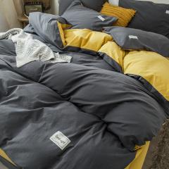 绫帛薇布2020全棉纯色织标款床单款四件套HC