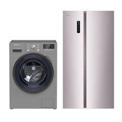 格力晶弘冰箱洗衣机套组