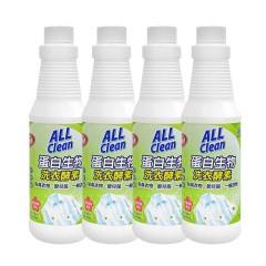 台湾多益得浓缩酵素衣物护理洗衣液500ml*4瓶装