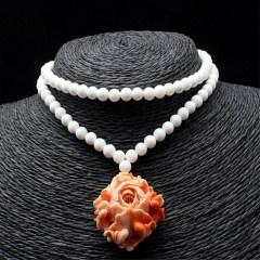 琳福珠宝 海洋之恋砗磲长款项链 毛衣链饰品