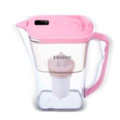 海尔(Haier)HS-02滤水壶 家用净水壶 滤水壶 直饮去余氯 三色