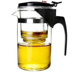 常生源 玻璃杯 玲珑茶杯瘦 高硼硅耐热耐高温过滤内胆茶壶